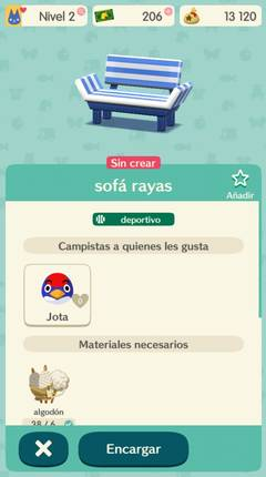 Cómo crear objetos en Animal Crossing Pocket Camp