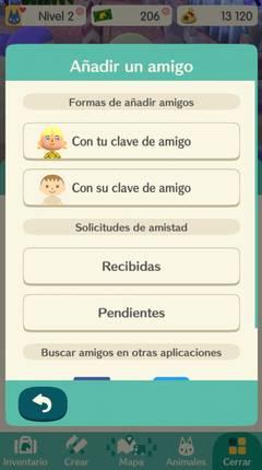 Cómo contactar con otro jugador en Animal Crossing Pocket Camp