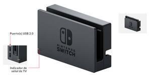 Nintendo Switch - El Dock por delante