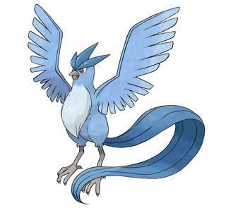 Articuno Pokémon Ultrasol y Ultraluna