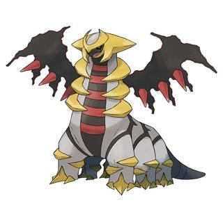 Giratina Pokémon Ultrasol y Ultraluna