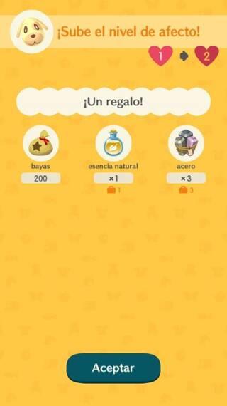 Amistad Animal Crossing Pocket Camp
