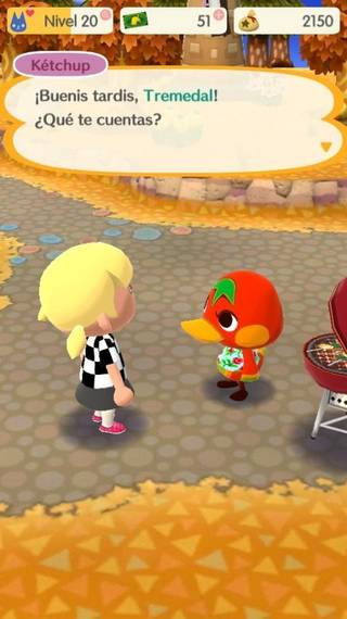 Ketchup Animal crossing Pocket Camp