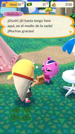 Belinda Animal crossing Pocket Camp