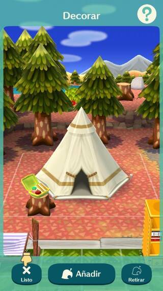 Instalaciones Animal Crossing Pocket Camp