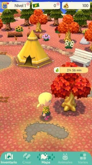 Reseteo de recursos en Animal Crossing Pocket Camp