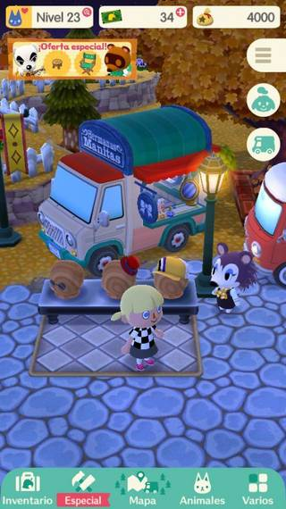 Ropa en Animal Crossing Pocket Camp