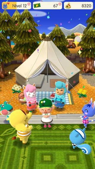 Trucos para jugar a AC Pocket Camp