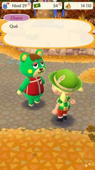Charo Animal crossing Pocket Camp