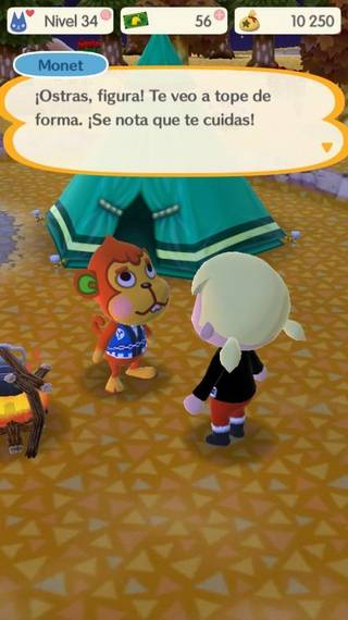 Monet Animal crossing Pocket Camp