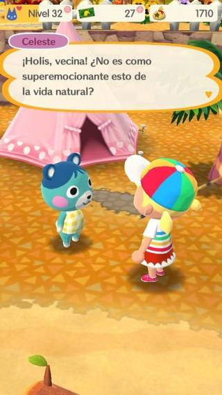 Celeste Animal crossing Pocket Camp