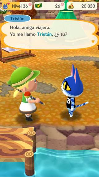 Tristán Animal crossing Pocket Camp