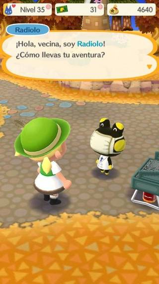 Radiolo Animal crossing Pocket Camp