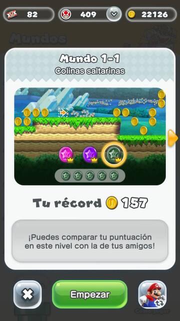 Cómo elegir personaje Super Mario Run