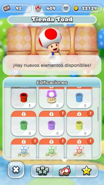 Tienda Toad Super Mario Run