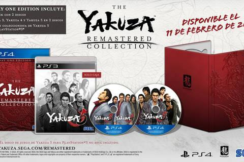 Already on sale The Yakuza Remastered Collection in physical, and also the three digital games separately