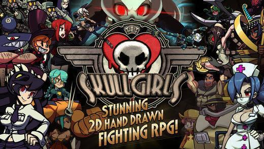 Imágenes Y Wallpapers Skullgirls Mobile Android Iphone