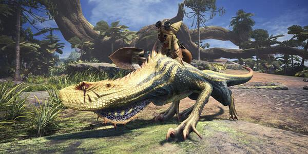 Sistema de órdenes a Camaradas en Monster Hunter World
