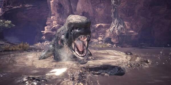 Jyuratodus en Monster Hunter World - Localización, drops y consejos