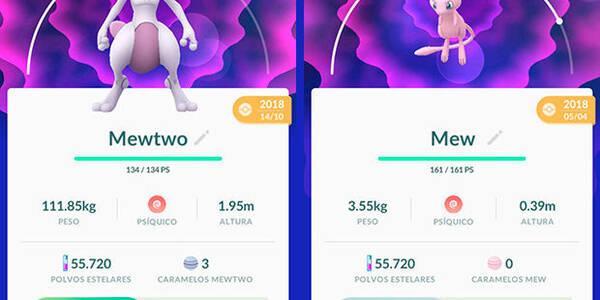 Cómo capturar a Mew y Mewtwo en Pokémon Go: Incursion exclusiva y especial