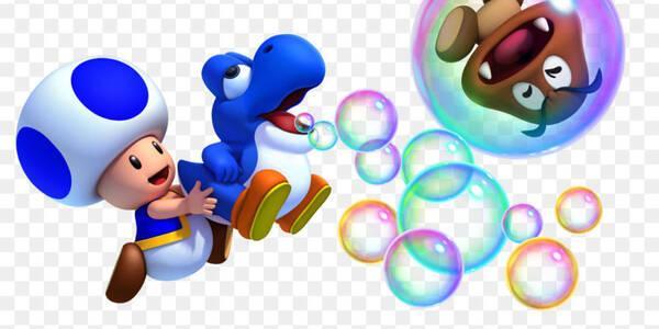 Cómo jugar con Toad azul en New Super Mario Bros. U Deluxe