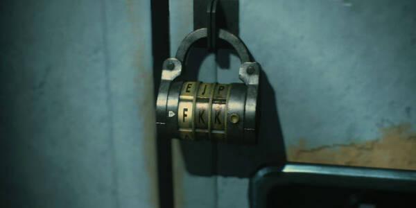 TODOS los códigos de candados y taquillas en Resident Evil 2 Remake