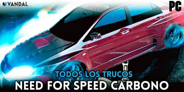 Trucos de Need for Speed Carbono para PC