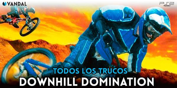 Trucos de Downhill Domination para PS2