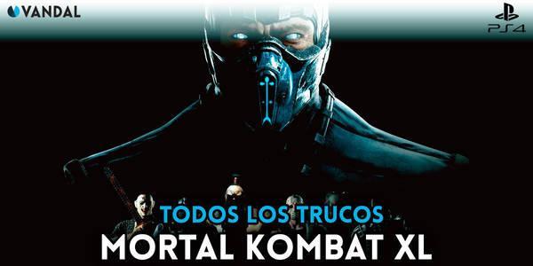 Trucos de Mortal Kombat XL para PS4