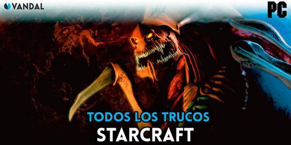 Trucos de Starcraft para PC