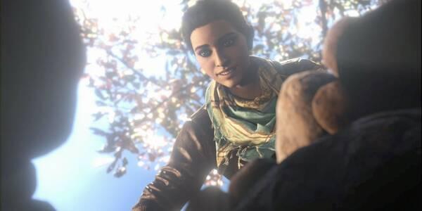 Háblame, oh, musa en Assassin's Creed Odyssey - Misión principal