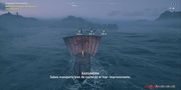 Un periplo hacia la guerra en Assassin's Creed Odyssey - Misión principal