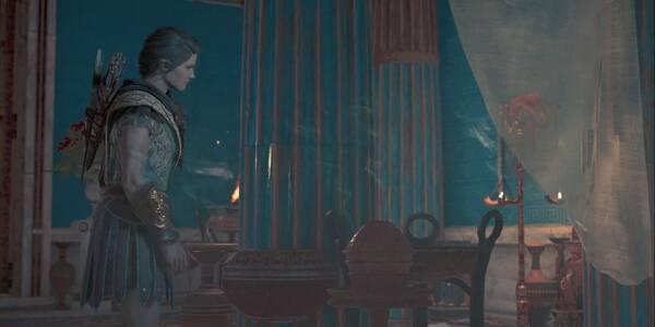Preguntar a un fantasma en Assassin's Creed Odyssey - Misión principal
