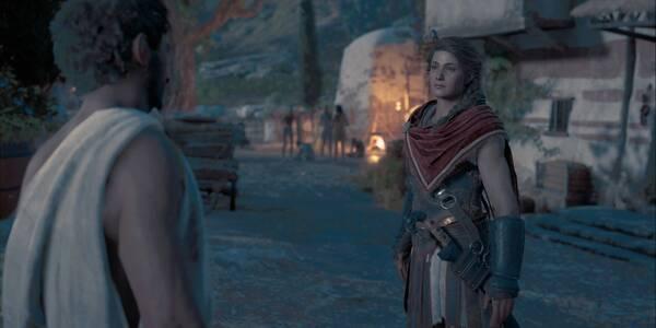 El tiburón errante en Assassin's Creed Odyssey - Misión secundaria