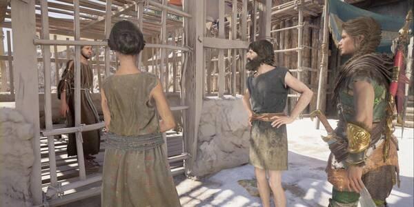 Valores familiares en Assassin's Creed Odyssey - Misión secundaria