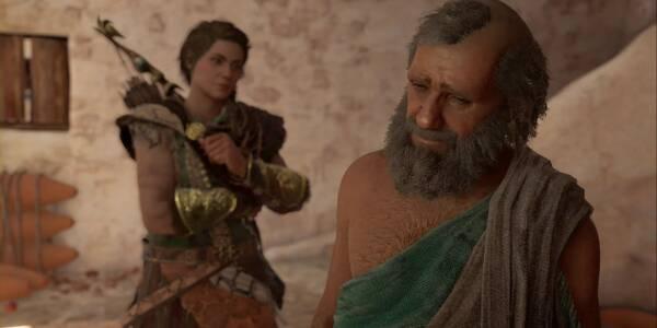 El que nace esclavo... en Assassin's Creed Odyssey - Misión secundaria