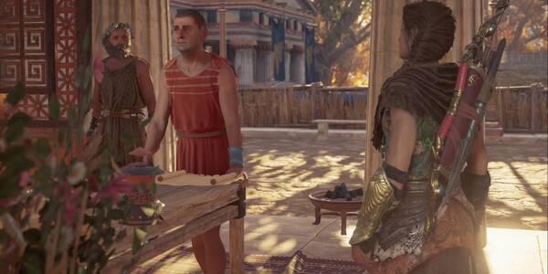 Lengua afilada en Assassin's Creed Odyssey - Misión secundaria