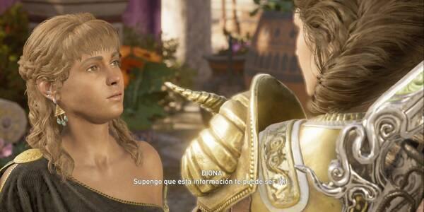 Un lugar en el Kosmos en Assassin's Creed Odyssey - Misión secundaria