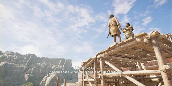 Huir con valentía en Assassin's Creed Odyssey - Misión secundaria