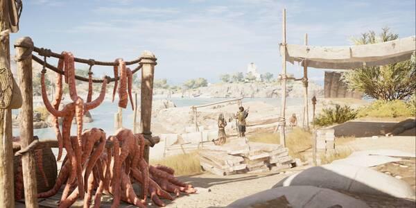 De minotauros y hombres en Assassin's Creed Odyssey - Misión secundaria
