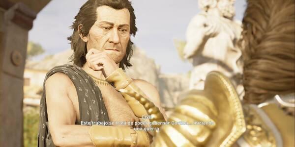 La venganza de Gortina en Assassin's Creed Odyssey - Misión secundaria