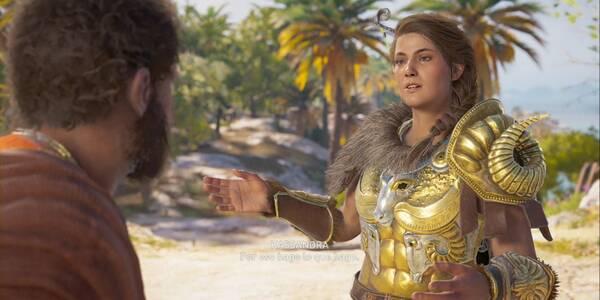 El destino de Markos en Assassin's Creed Odyssey - Misión secundaria