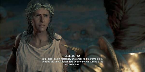 Un dios entre hombres en Assassin's Creed Odyssey - Misión secundaria