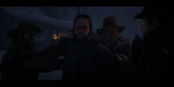 ¿Quién diablos es Leviticus Cornwall? en Red Dead Redemption 2 - Misión principal