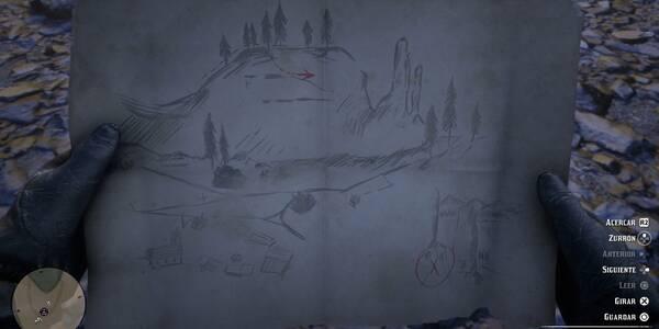 Mapas del tesoro en Red Dead Redemption 2: Localización y Recompensas
