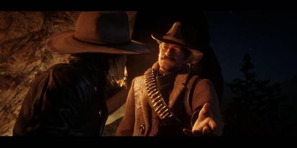 Una escena pastoral inusitada en Red Dead Redemption 2 - Misión principal