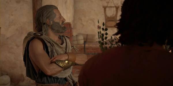 ¿Ha visto alguien a Mikkos? en Assassin's Creed Odyssey - Misión secundaria