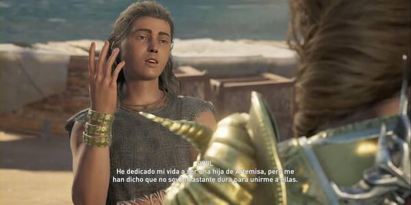 El hábito hace a la hija en Assassin's Creed Odyssey - Misión secundaria