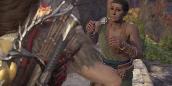 Galanteo en el jardín de piedra en Assassin's Creed Odyssey - Misión secundaria