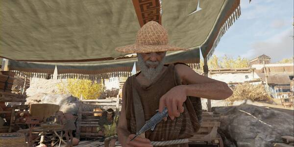 El hijo del pescador en Assassin's Creed Odyssey - Misión secundaria